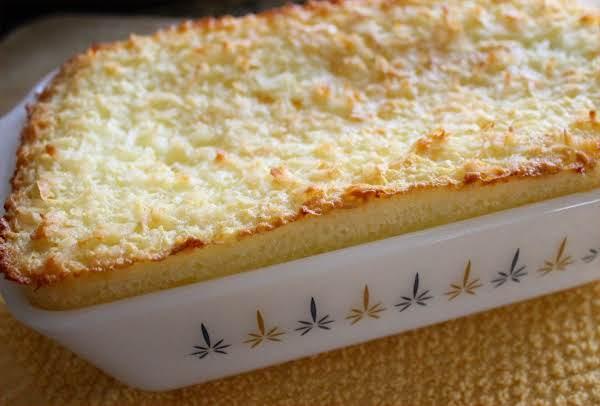 Crustless Coconut Pie Recipe
