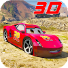 Superhero League (Lightning Car Stunts) APK