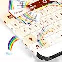 Teclado multicolor icon