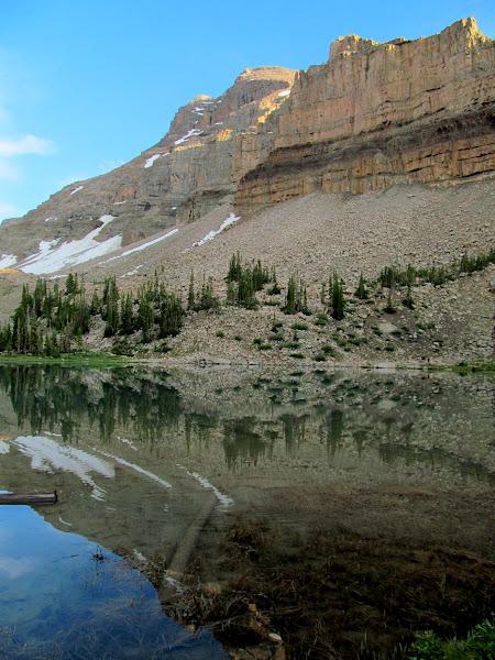 Photo: Lake BR-24 and Ostler Peak