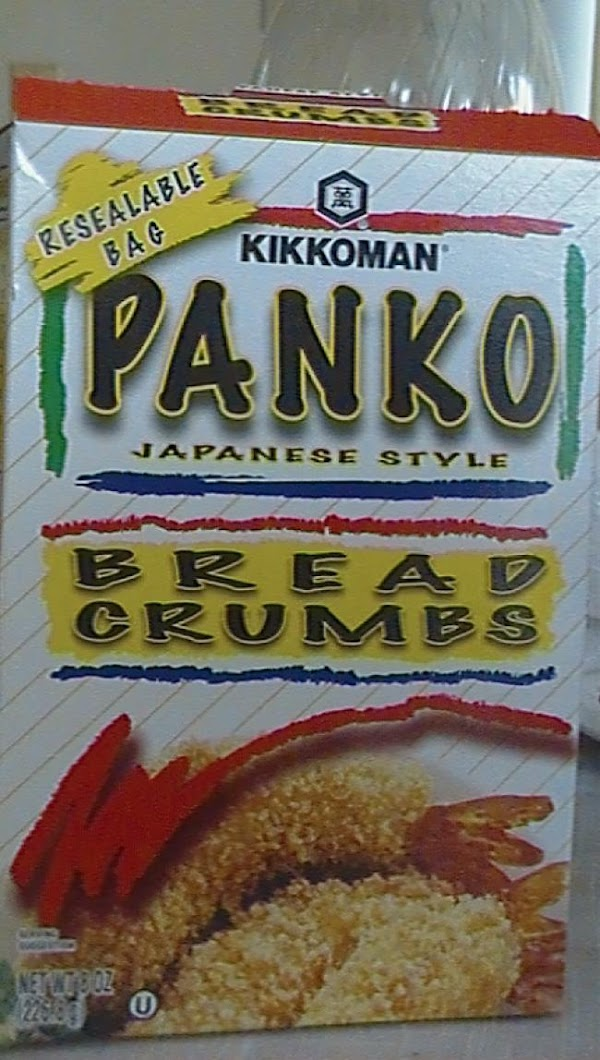 Panko makes chicken crunchy when frying it