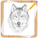 How to Draw Wolves - Easy Drawing Step by Step icon