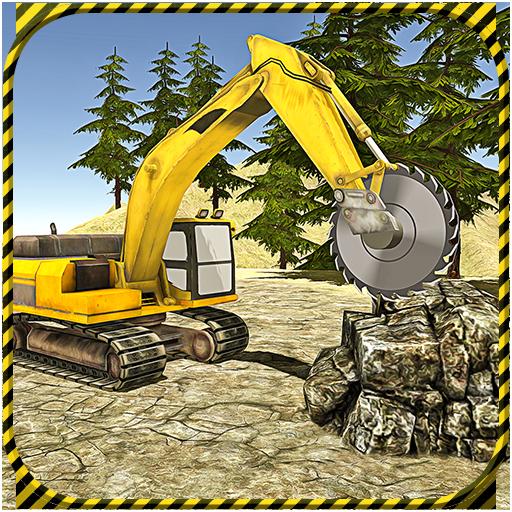 Heavy Excavator 2017 Stone Cut (game)