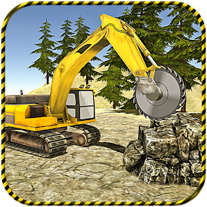 Heavy Excavator 2017 Stone Cut for PC and MAC