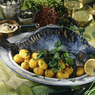 Blue Carp with Buttery Potatoes