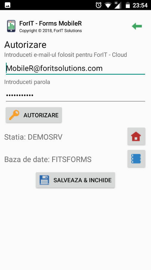 ForIT - Forms MobileR- screenshot