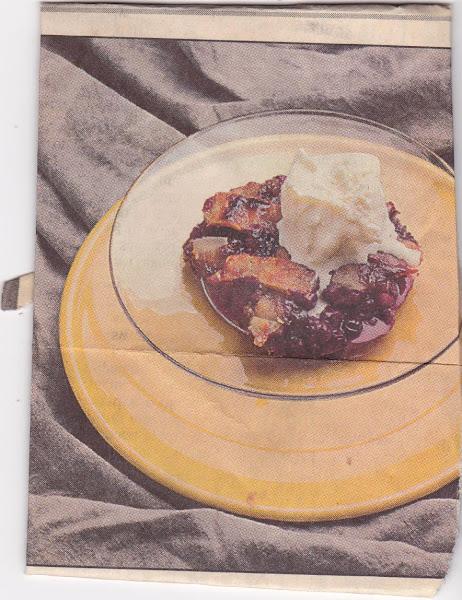 Raspberry-blueberry Cobbler Recipe