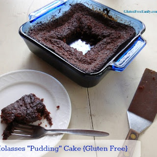 "Gluten-Free Molasses ""Pudding Cake"""