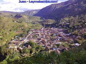 Photo: Vista panorámica de nuestro Leymebamba