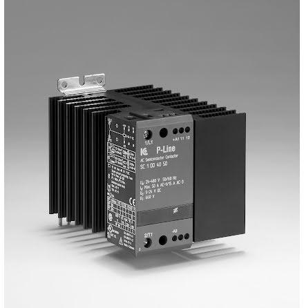 STATISK KONTAKTOR 1-FAS. 5-24 VDC 50A LINE 24-480VAC