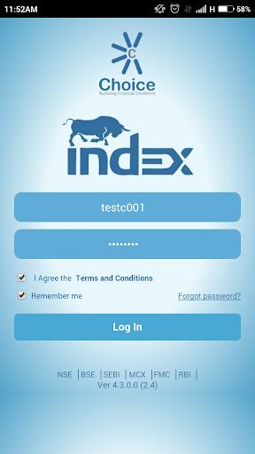 Choice Index
