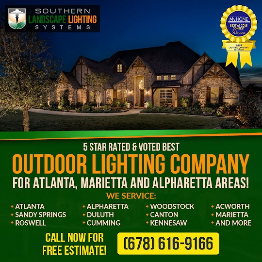 landscape lighting marietta