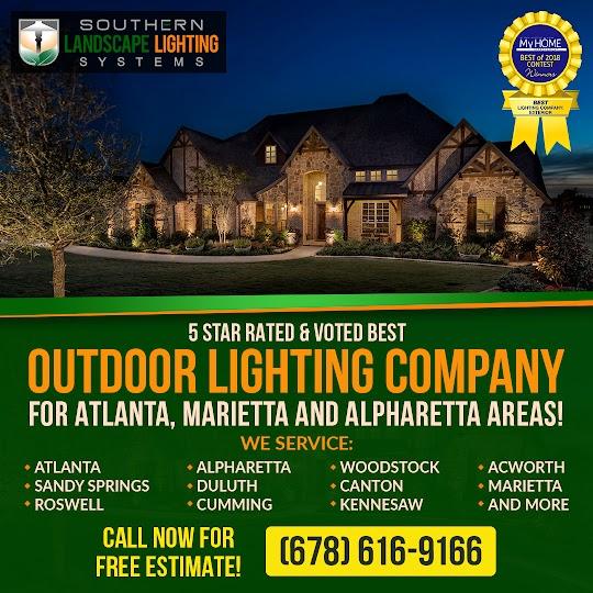 landscape lighting marietta