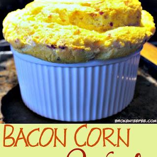 Bacon Corn Souffle