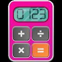Pink Calculator icon