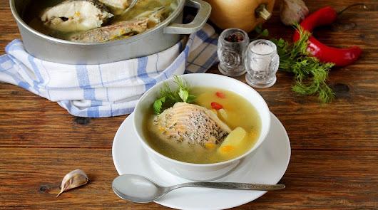 Sopa de pescado y tortilla para seguir la dieta