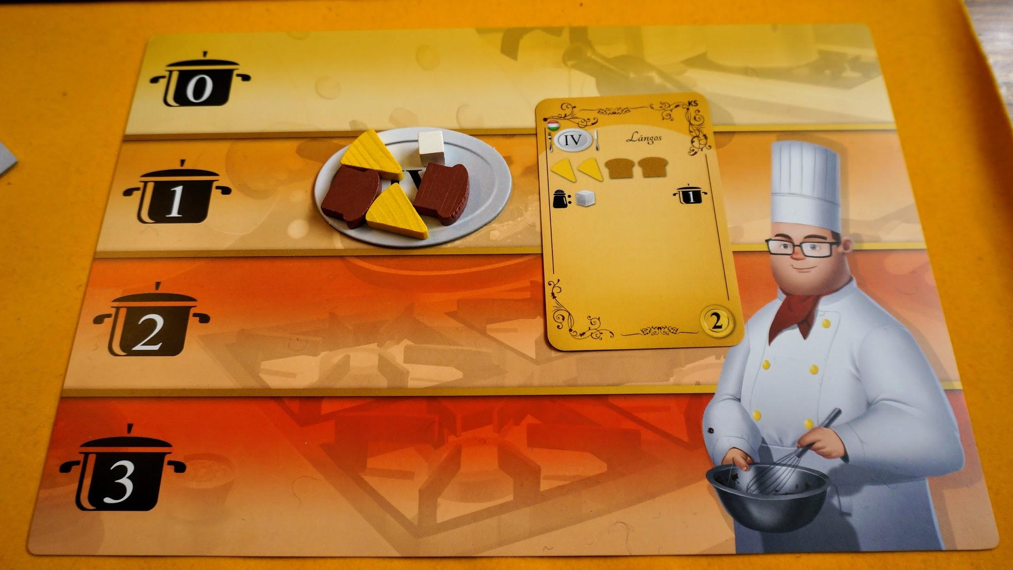 キッチンラッシュ:個人ボード