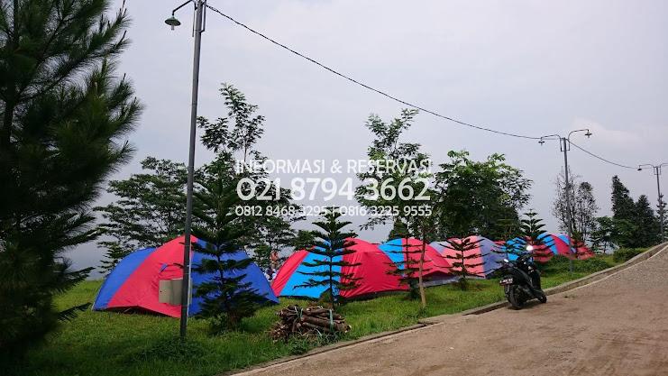 Agro Wisata Villa Bukit Hambalang Sentul Letak Perkemahan Keluarga   Bogor  yang tinggal di Kawasan Periuk - Tangerang