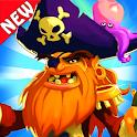 Pirate Treasures Adventure ⛵ - Match 3 games Jewel icon