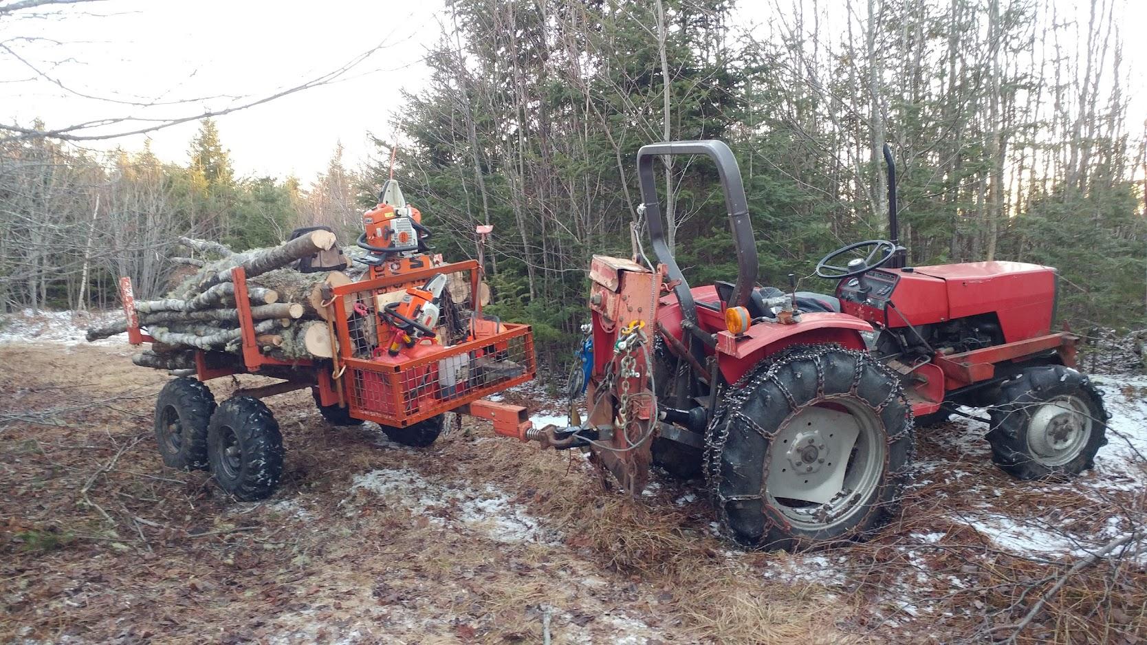 Farmi/Tractor winches? | Firewood Hoarders Club