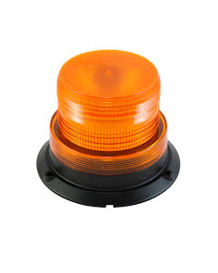 Roterande varningsljus LED med magnetfot - Ø128 mm
