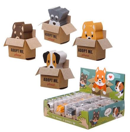 Suddgummi i minilåda - Dog Squad