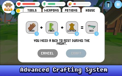 Craft Island Survival 3D - náhled