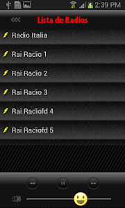 Radios di Italia screenshot 3