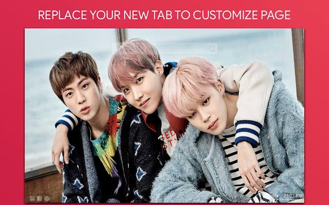 Bts Wallpaper HD Custom New Tab