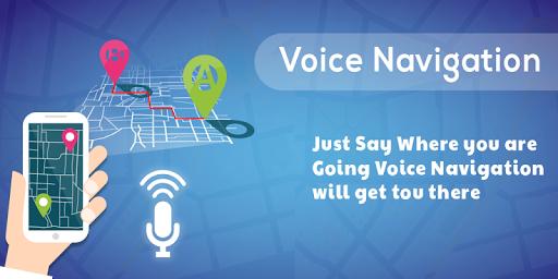 Voice GPS Navigation & Map screenshot