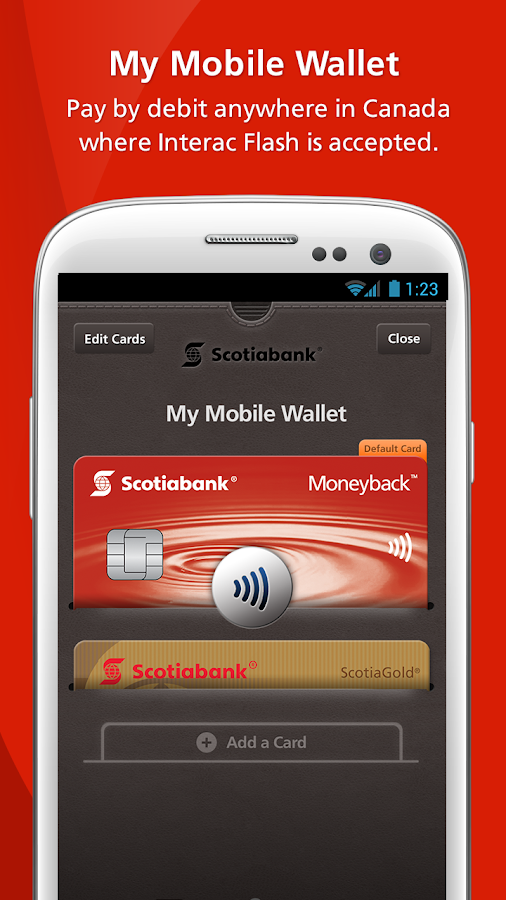 Scotiabank Mobile Banking- screenshot