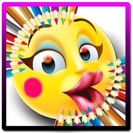 gambar mewarnai emoji  gambar kelabu