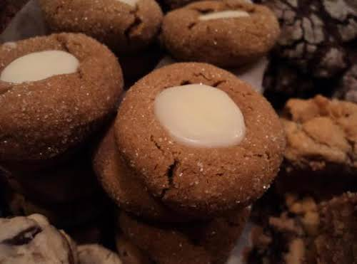 "Gingerbread Thumbprints ""This a mix of several great gingerbread cookie recipes. I..."