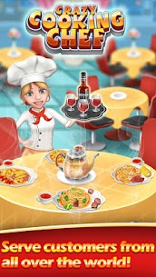 Crazy Cooking Chef Mod 6.2.3127 Apk [Unlimited Money] 1