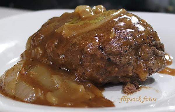 Smothered Hamburger Steak Recipe