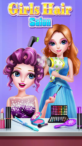 ud83dudc87ud83dudc87Girls Hair Salon screenshots 18