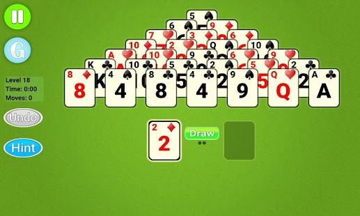 Pyramid Solitaire Epic - náhled