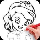 学画公主 icon