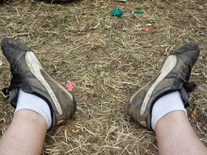 Photo: Muddy shoes - no wellies