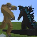War Monster MOD: Godzilla vs Kong Mods For MCPE icon