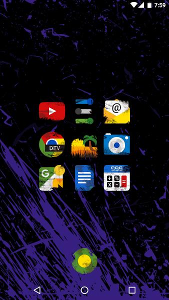 Ruggon - Icon Pack- screenshot thumbnail