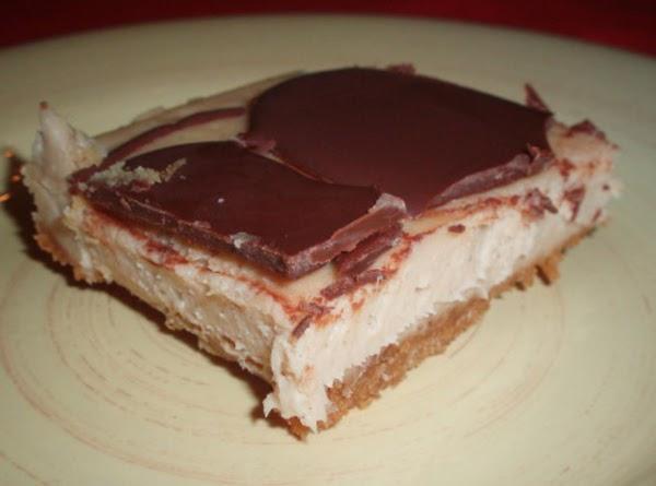 Peanut Butter Cheesecake Squares Recipe