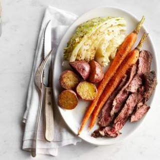 "Quick ""Corned"" Beef & Cabbage."