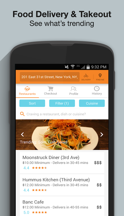Sharebite - Delivery & Takeout- screenshot