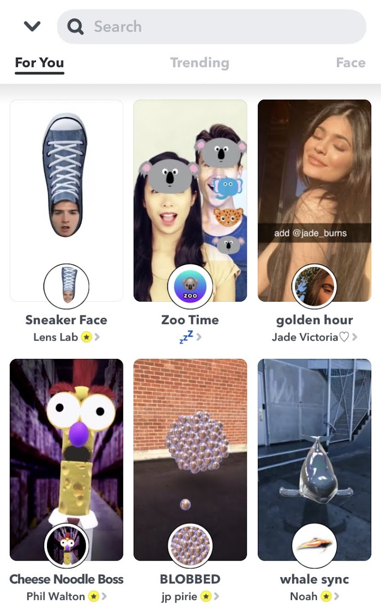 Snapchat is leading in AR technology