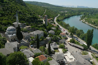 Photo: View of Pocitelj from top of the fort