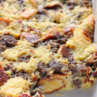 Easy Sausage Cheese Breakfast Casserole