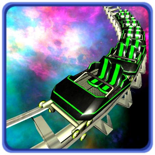 VR Galaxy Speed Roller Coaster Cardboard