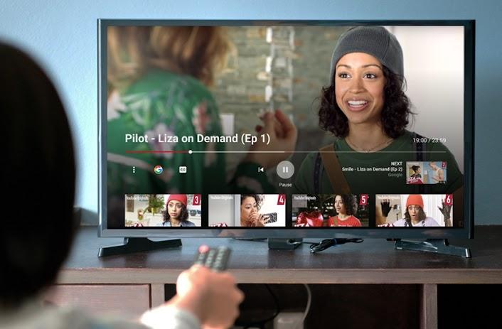 YT TV interface