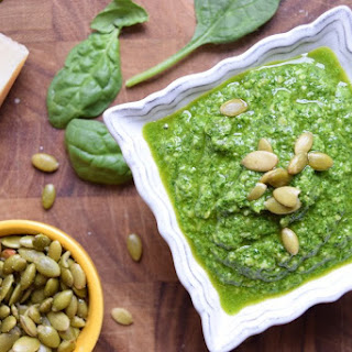 Nut-Free Spinach Pesto